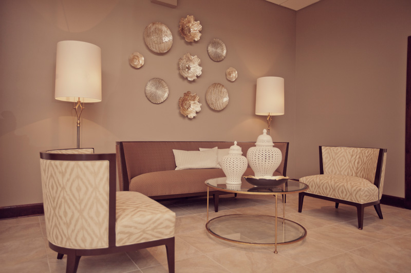 Courtney Casteel, Interior Design sitting area design