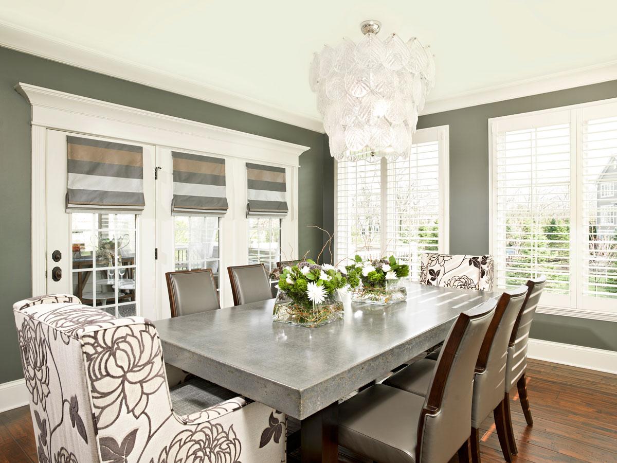 Courtney Casteel, Interior Design Dining room design