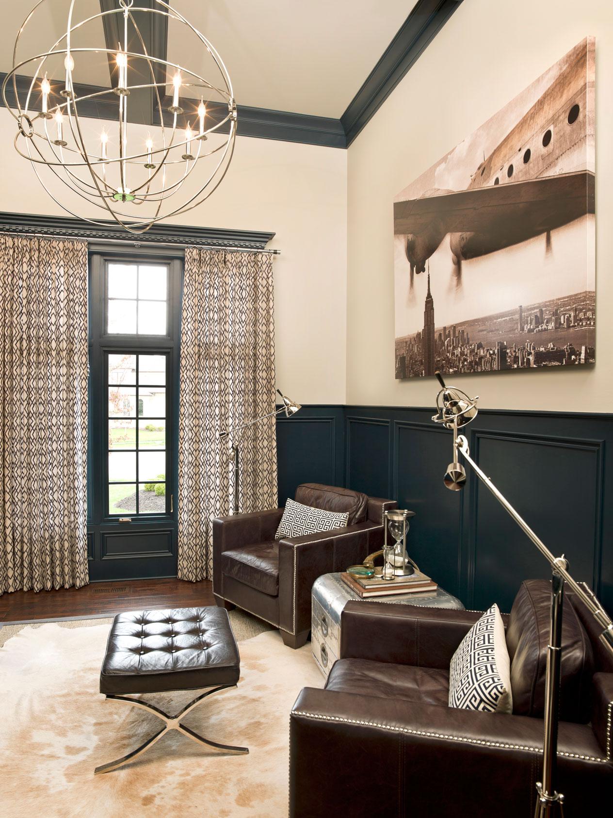 Courtney Casteel, Interior Design -sitting area