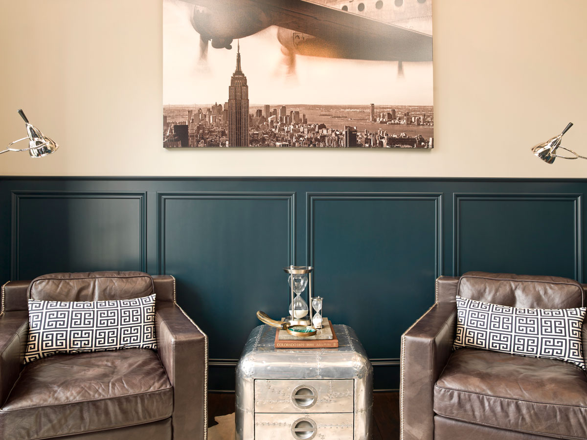 Courtney Casteel, Interior Design sitting area
